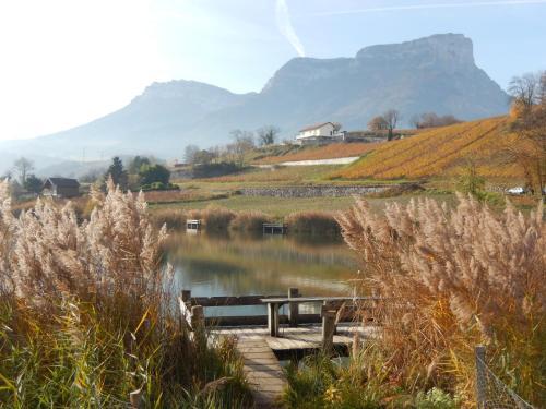Au coeur des vignes : Guest accommodation near Barraux