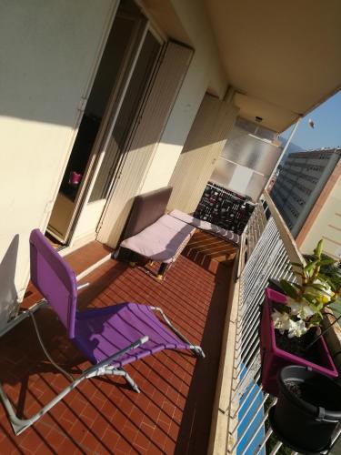 jolie vue sur le var : Apartment near Saint-Laurent-du-Var