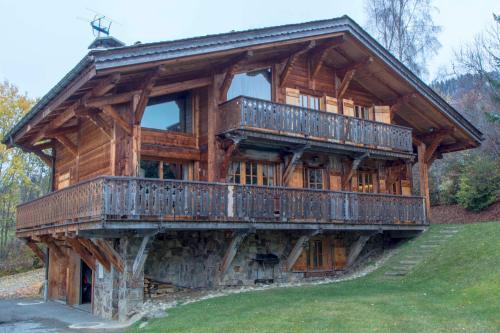 Chalet Vigor : Guest accommodation near Combloux