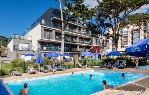 Résidence Prestige Odalys De La Plage : Guest accommodation near Pornichet