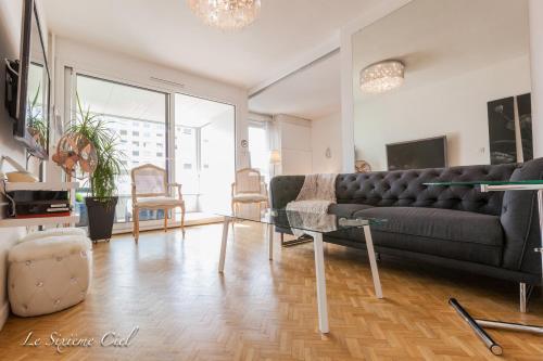 Le Sixième Ciel : Apartment near Lyon 3e Arrondissement