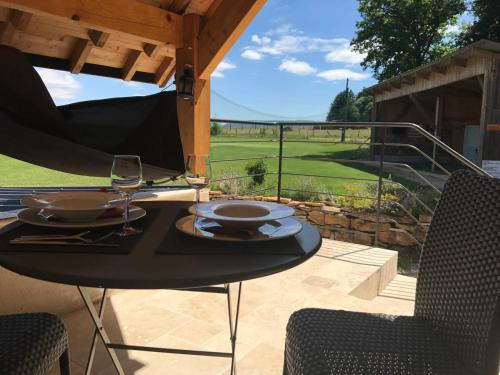 Golf de La Chassagne : Guest accommodation near Saint-Victor-sur-Ouche