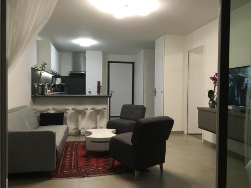 Les berges : Apartment near Musièges