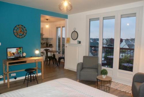 Appartement Nouveau Monde : Apartment near Saint-Brieuc