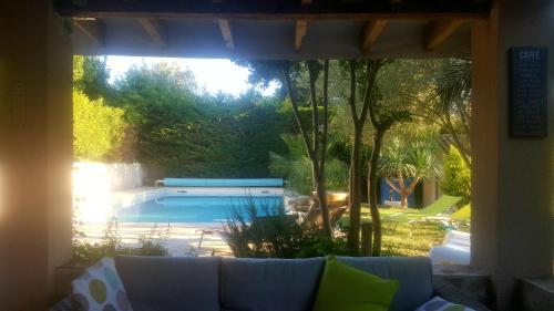 Les Hauts de Chaudeyrac : Guest accommodation near Sabran