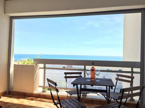 Exceptionnel ! Appartement vue imprenable sur mer. : Apartment near Palavas-les-Flots