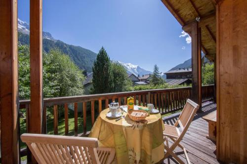 Chalet Beugeant : Guest accommodation near Vallorcine