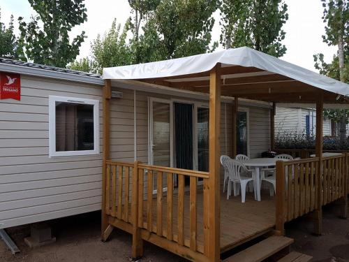 Mobilhome Valras Plage : Guest accommodation near Cers