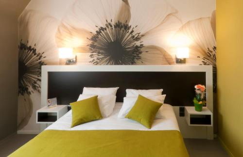 Quality La Marebaudière Spa Vannes Centre : Hotel near Theix