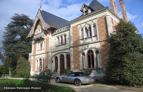 Chateau Valcreuse : Bed and Breakfast near Leigné-les-Bois