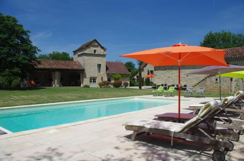 le mas de laché : Guest accommodation near Lacapelle-Livron