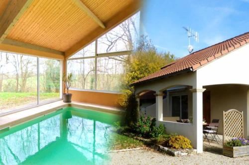 L'OREE DES BUIS*** : Guest accommodation near Sanxay