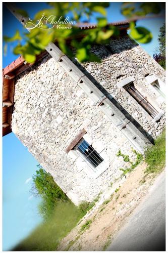 La Chabottine Vercors : Guest accommodation near Saint-Lattier
