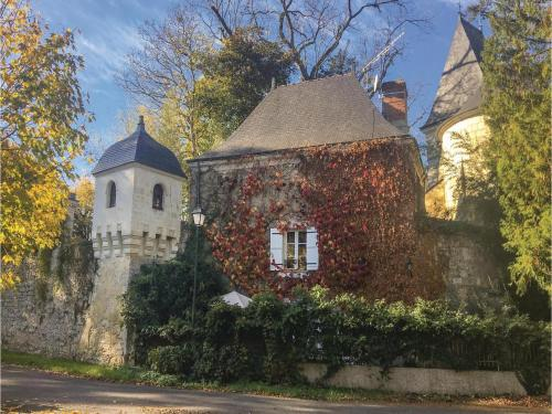 Holiday Home Gennes with Fireplace I : Guest accommodation near Les Ulmes