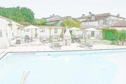 BonAbri Vacances Holidayhouse : Guest accommodation near La Chapelle-Grésignac