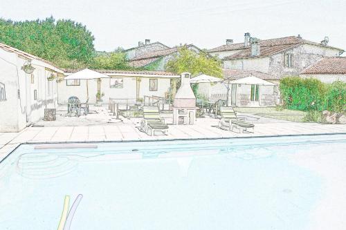 BonAbri Vacances Holidayhouse : Guest accommodation near Gout-Rossignol
