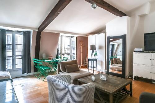 2pers Central Flat rue de Rivoli : Apartment near Paris