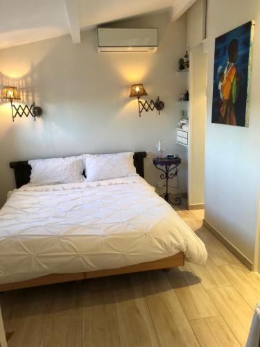 Les Grimaldines - Maison d'Hôtes : Guest accommodation near Cagnes-sur-Mer