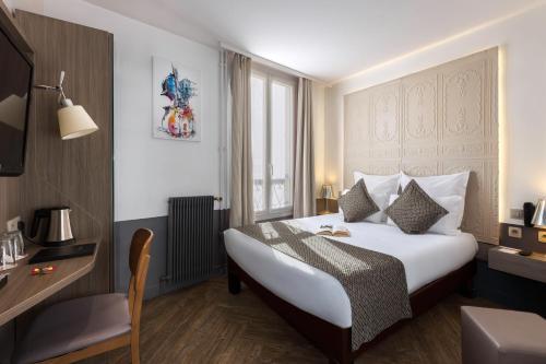 Contact Hôtel Alizé Montmartre : Hotel near Paris 17e Arrondissement