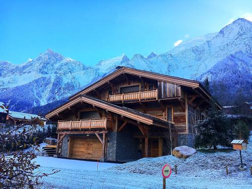 Chalet Alexandra : Guest accommodation near Les Houches