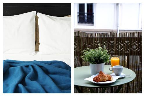 Appartement lumineux avec balcon au coeur de Paris : Apartment near Paris