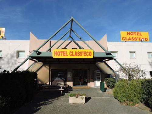 Hotel Class'Eco Carcassonne : Hotel near Villedubert