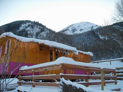 roulotte des forests : Guest accommodation near Saint-Jean-Saint-Nicolas