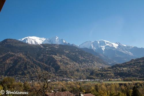 Chalet Worldsareus, Mont Blanc : Apartment near Passy