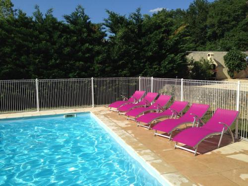 Le Mas Du Gros Cailloux : Guest accommodation near Lagorce