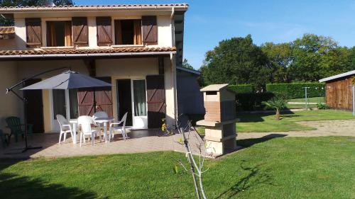 Chez Véro & Bernard : Guest accommodation near Vendays-Montalivet