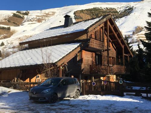 `chalet l'ardoisiere : Guest accommodation near Saint-Christophe-en-Oisans