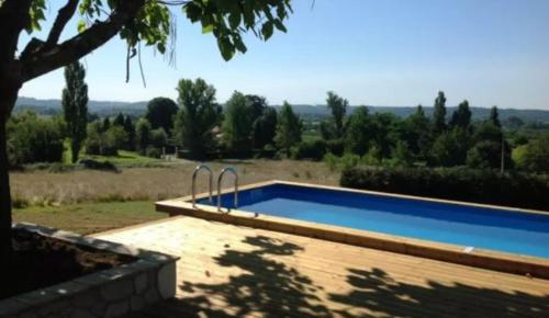 Villa Les Bories : Guest accommodation near Nastringues