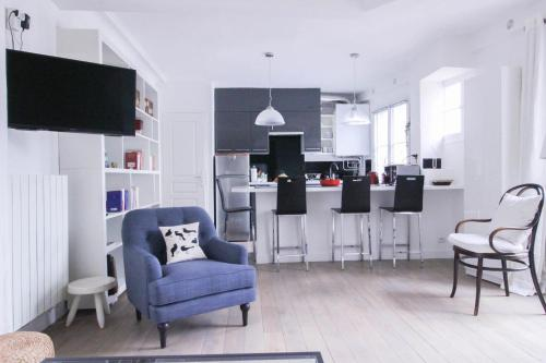 Luckey Homes - Rue Ruhmkorff : Apartment near Neuilly-sur-Seine