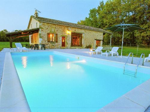 Maison dans les bois : Guest accommodation near Saint-Étienne-de-Villeréal