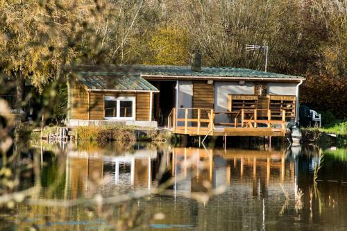 l'etang d'une pause : Guest accommodation near Vieille-Chapelle
