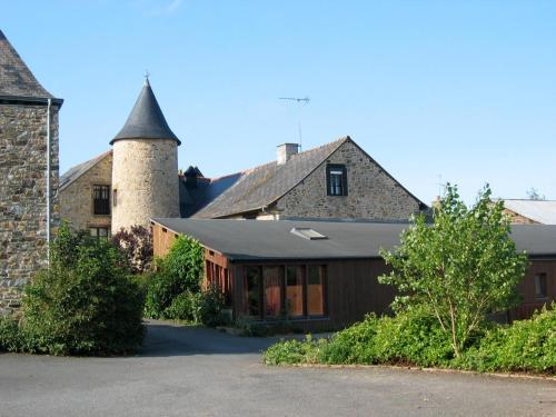 Gîtes de la Ferme Auberge de Mésauboin : Guest accommodation near Saint-Georges-de-Chesné