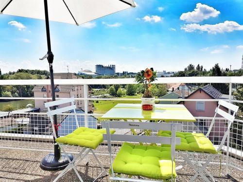Studio vue sur Parlement Européen : Apartment near Bischheim