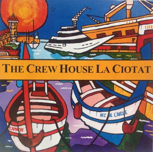 The crew house la ciotat : Guest accommodation near La Ciotat