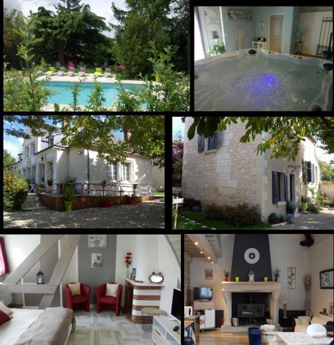Chambres des Coteaux : Guest accommodation near Dangé-Saint-Romain