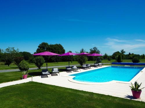 Villas de Leypinas Gites : Guest accommodation near Saint-Pardoux-Corbier