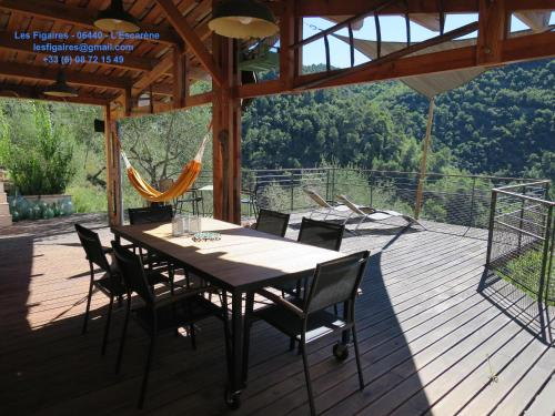 Les Figaires : Guest accommodation near Blausasc