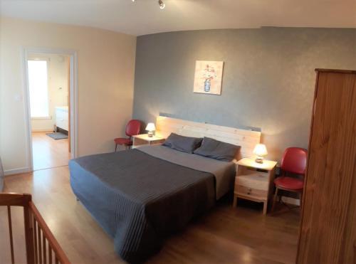 Gîte Les Planchettes : Guest accommodation near Saint-Pierre-le-Chastel