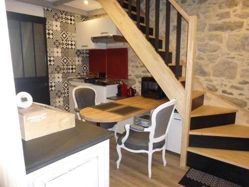 Le P'tit Cottage : Guest accommodation near La Chapelle-Blanche