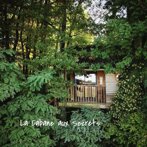 La Cabane aux Secrets - Au Milieu de Nulle Part : Guest accommodation near Attancourt