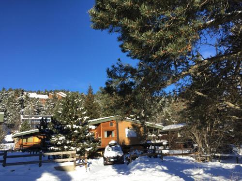 Joli Chalet*** à Pyrénées 2000 au pied des pistes : Guest accommodation near Mont-Louis