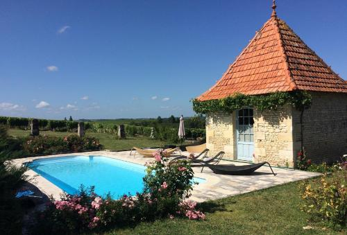 Chambre d'Hôtes Clos des Pierres Blanches : Bed and Breakfast near Moings