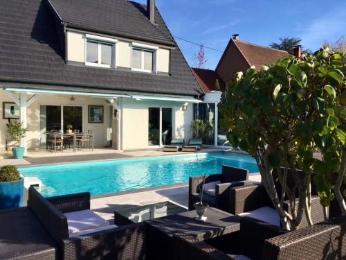 Villa Rue de la Fecht : Guest accommodation near Zimmerbach