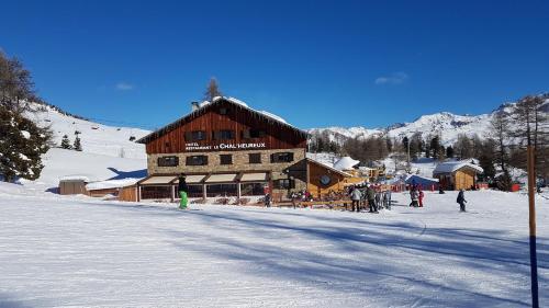 le Chal'heureux : Hotel near Crévoux