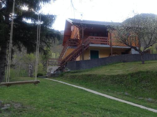 la terrasse : Apartment near Saint-Étienne-de-Tinée