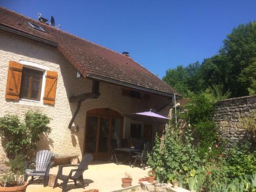 Fermette en France : Guest accommodation near Fain-lès-Moutiers